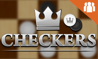 Checkers with Buddies: 2 Player Game