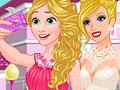 Wedding Selfie with Princesses