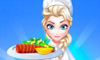 Elsa Restaurant: Oven Baked Salmon