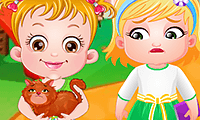 Baby Hazel: Flauschkatze
