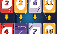 Solitario Lightning Cards