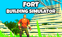 Fort Builder & Shooter Simulator