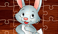 Cartoon Rabbit Jigsaw Puzzles